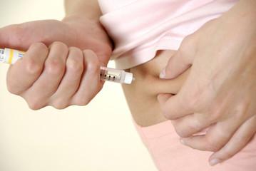 femme diabétique insuline