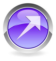 violett arrow-up button