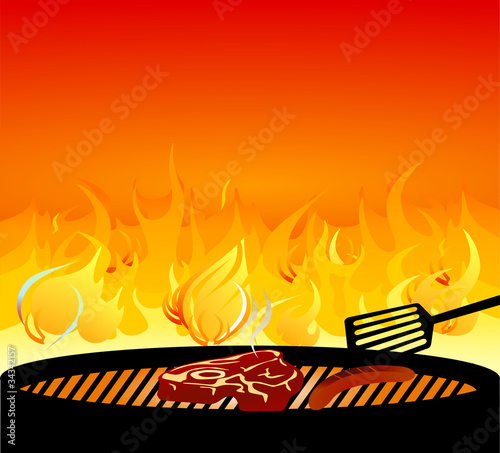 grillen Feuer