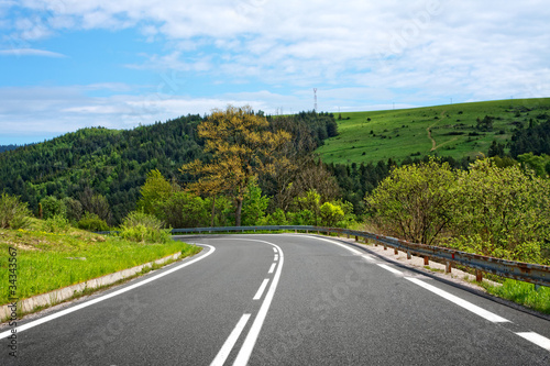 Asphalt road - 34343567