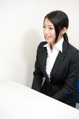 asian businesswoman on the meeting