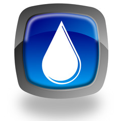 Water drop button