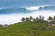 vague géante, Grande Anse, île de la Réunion
