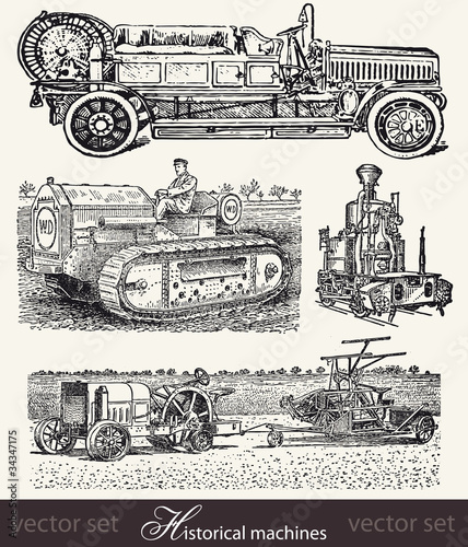 vector set: historical machines