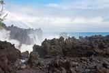 mer en furie, Langevin, île de la Réunion poster
