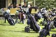 Golf bags parking