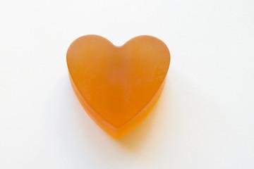 Jabón de Glicerina y Miel con forma de Corazón