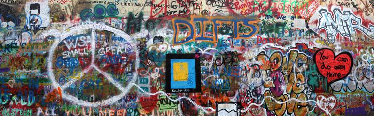 John Lennon Wand Prag © bodot