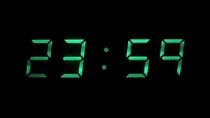 horloge numérique temps