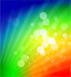 Vector rainbow shiny abstract background