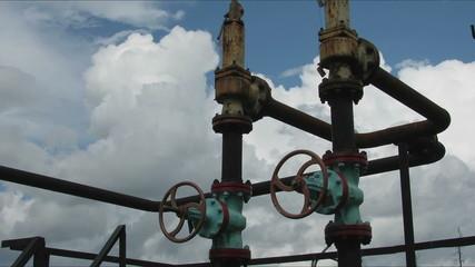 oil valve.  time lapse