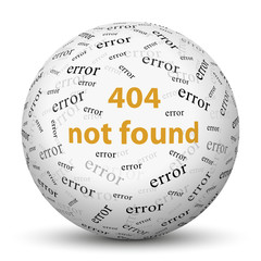 404 - not found - Error