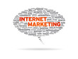 Speech Bubble - Internet Marketing