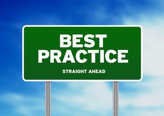 Best Practice Road Sign