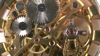 mechanism of old watch working