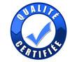 Label bleu qualité certifiée