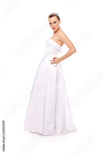 woman in white