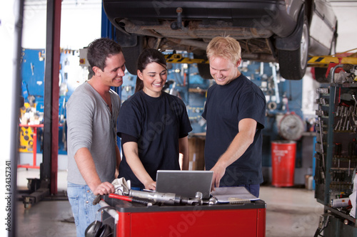 Mechanics Using Laptop