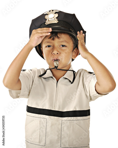 Little Police with Whistle