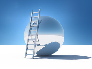 Ladder over the abstract world