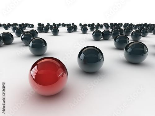 jedna-unikalna-czerwona-pilka-miedzy-innymi-czarna