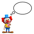 3d Clown has a silly idea