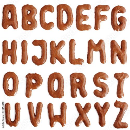 Das ABC mit Russisch Brot - 34363349