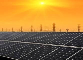 Solar Power on Sunny