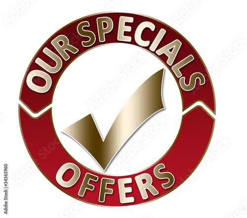 Red label : our specials offers
