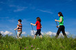 Nordic walking - active family audoor