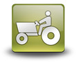 """Yellow 3D Effect Icon """"Tractor"""""""