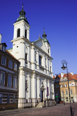 Church of the Holy Spirit in Warsaw
