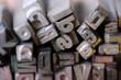 Bleibuchstaben