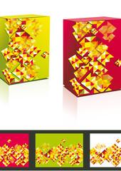 Blank software box (vector)