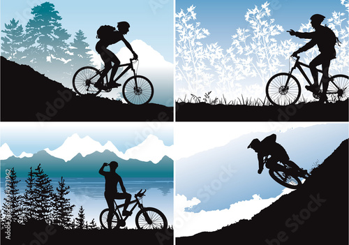 Mtb vector wallpapers
