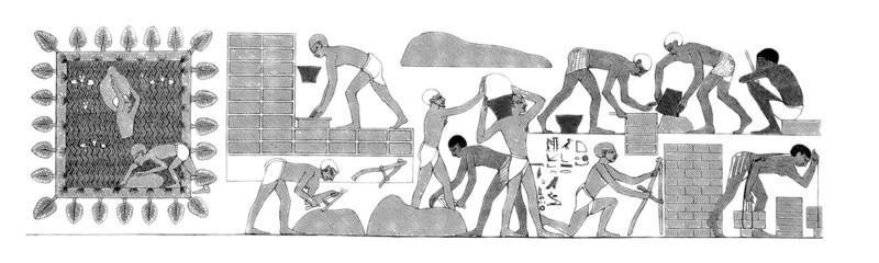 Batisseurs Egyptiens