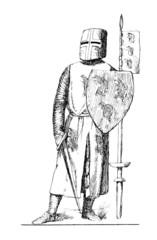 Chevalier Moyen-Âge