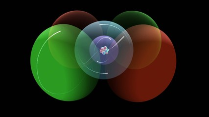 Carbon Atomic Model