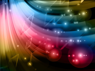 abstract technology background, vector
