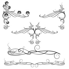 Decorative Swirl Motifs