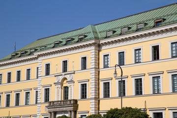 Historisches Gebäude in München, Bayern