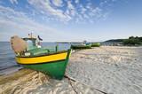 Fototapety Fishing boat on the seaside
