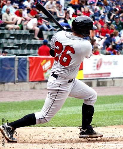 Right-handed Batter Swinging