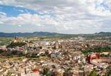 panorama de Caravaca de la Cruz Murcia poster