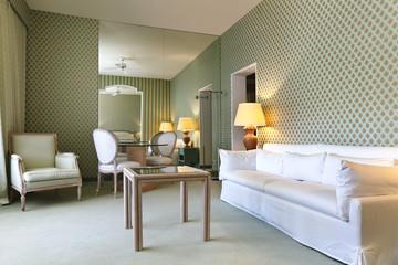 interior luxury apartment, comfortable suit , lounge