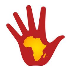Рука Африка