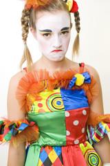 Clown - déguisement - la déception