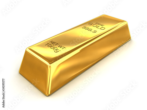 Bar of Fine Gold