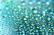 blue waterdrops