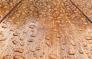 geölte Holzoberfläche